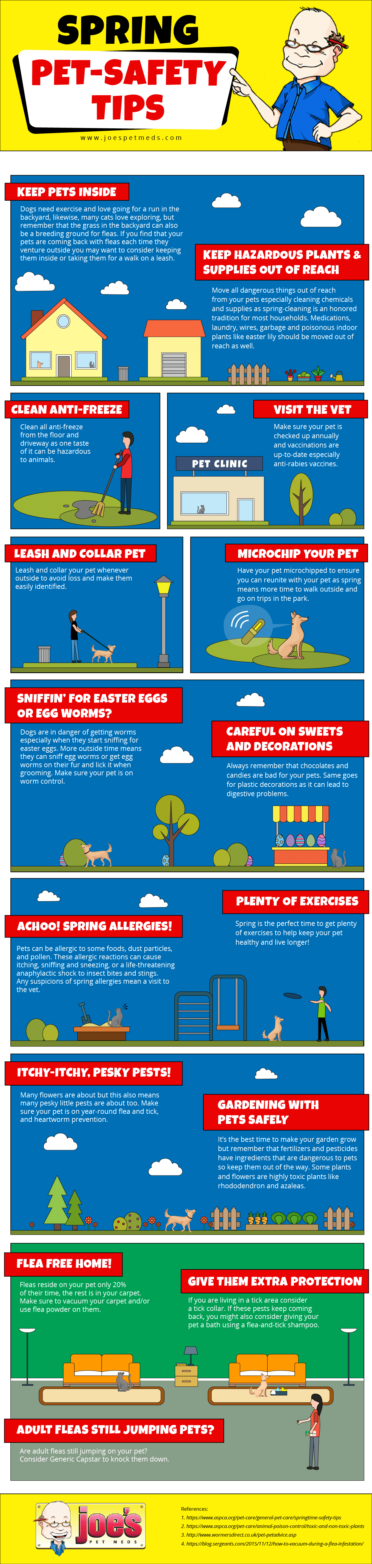 Spring Infographic Image