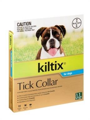 Kiltix Flea & Tick Collar for Dogs by Bay-o-Pet